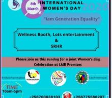 FARUG STATEMENT ON INTERNATIONAL WOMEN'S DAY 2020.
